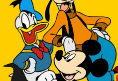 Micky, Goofy, and  Donald…