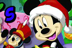 Christmas Day Mickey Mouse's