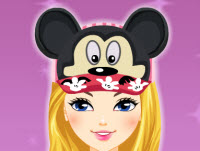 Mickey Mouse Hats Make Up