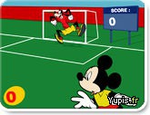 Scoring fame with Mickey …
