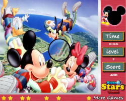 Mickey Mouse Hidden Stars