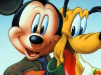 Micky Mouse and Dog