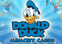Donald Duck Memory Cards