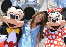 Disney World with Mickey …