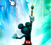 Epic Mickey painter path