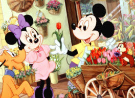 Mickey Mouse  - Florist O…