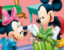 Mickey Mouses Gift Colori…