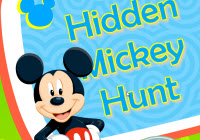 Hidden Mickey Hunt