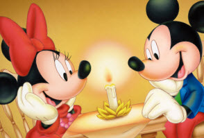 Mickey Mouse Love Minnie
