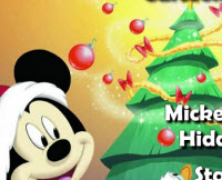 Mickey Christmas Hidden Letters