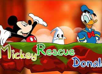 Mickey Rescue Donald Duck