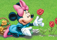 Minnie Mouse Planting Flo…