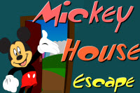 Mickey Mouse House Escape
