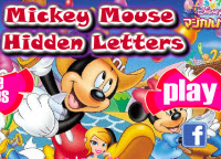 The Mickey Hidden Letters