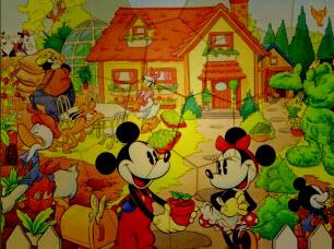 Puzzle Mania Mickey Garde…