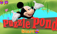 Mickey Mouse Puzzle Pond