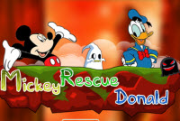 Mickey Rescue Donald