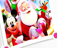 Mickey and Santa Claus