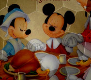 Thanksgiving Mickey Mouse…